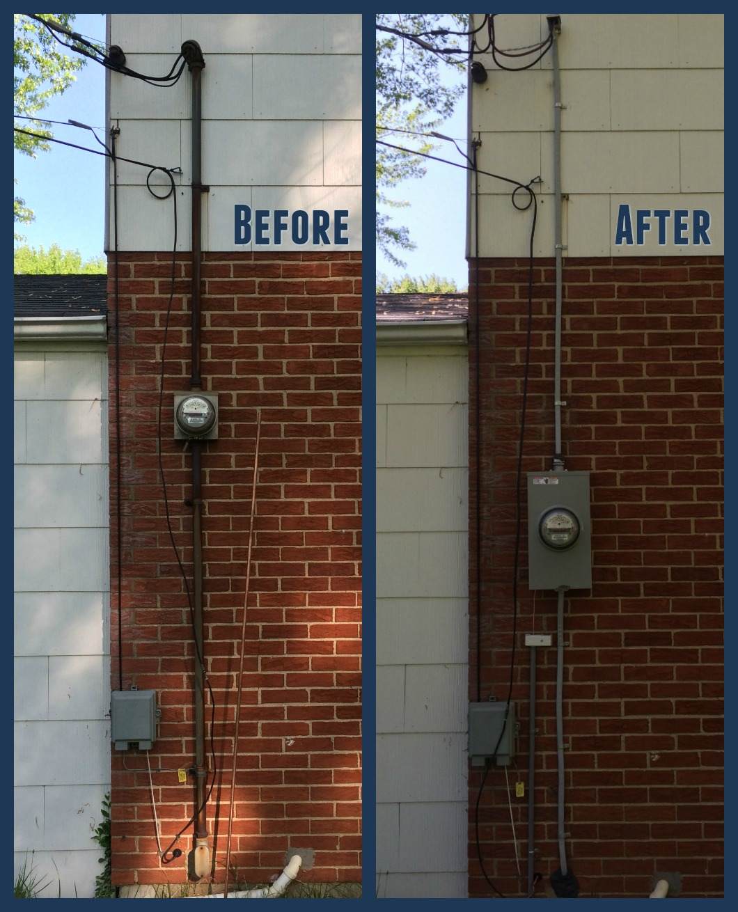 electrical meter replacement