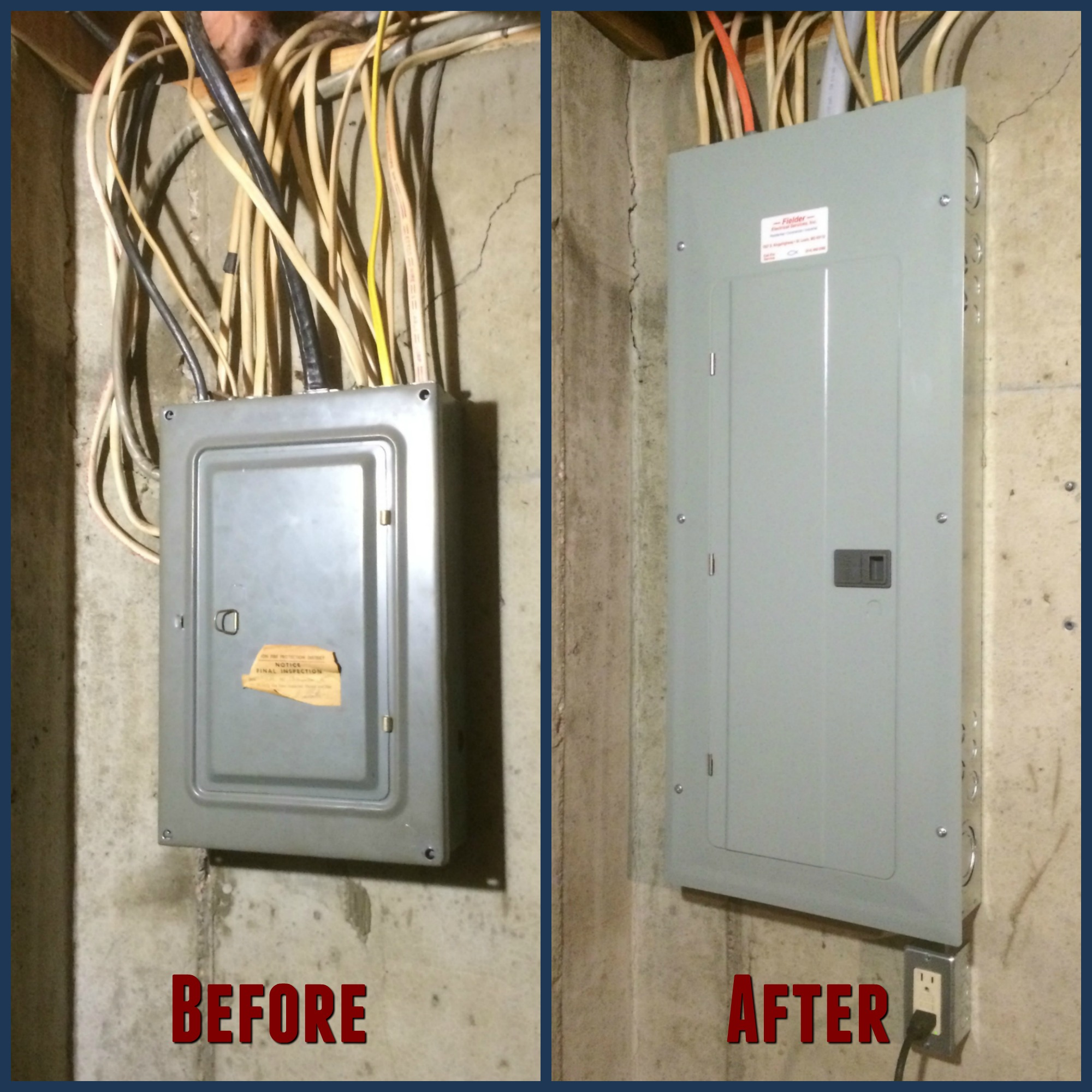 Examples of Electric Panel Upgrades. upgrade to 200amps The existing 100 amp  ...