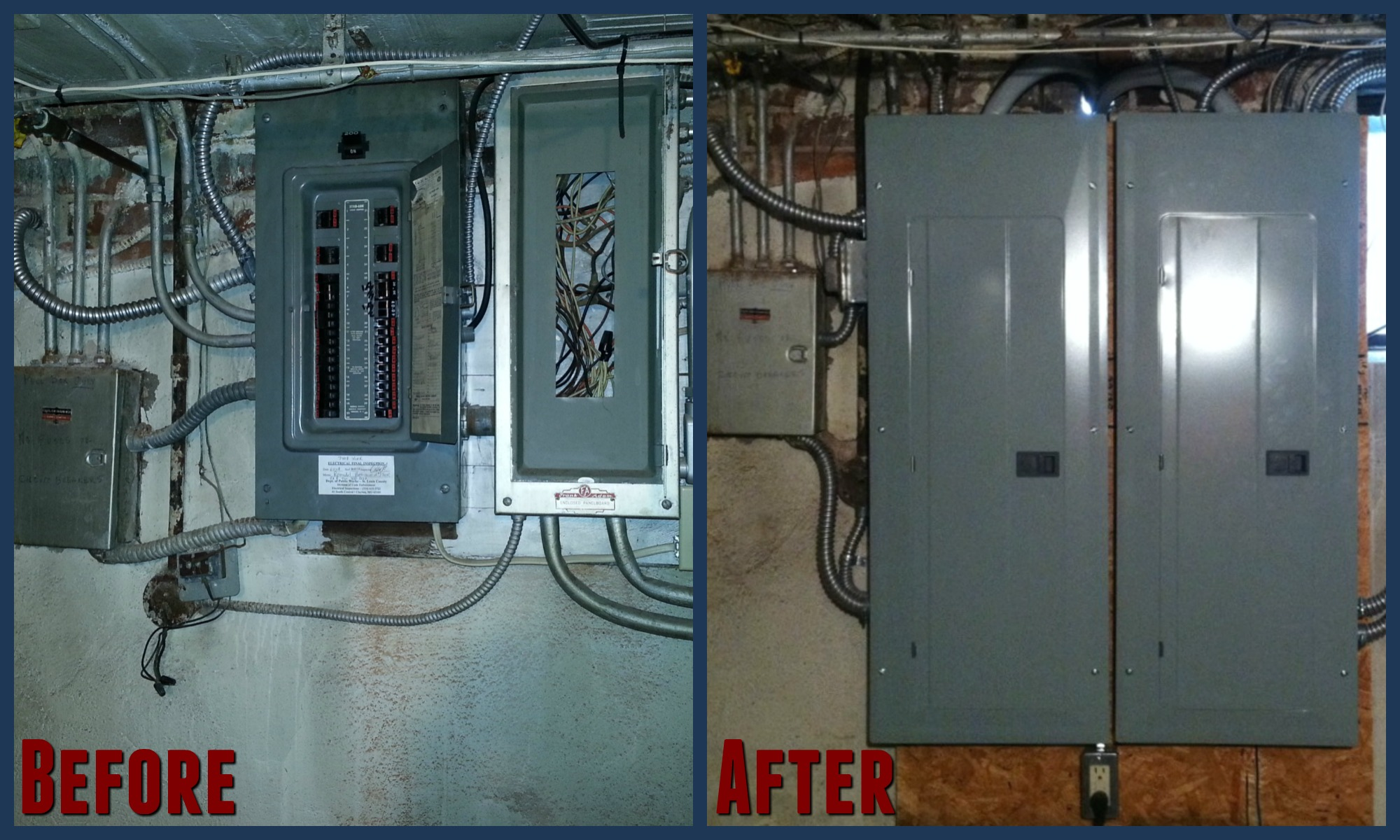200 to 400 amp electric panel upgrade electrical panels fielder electrical services wiring a 400 amp service at gsmx.co