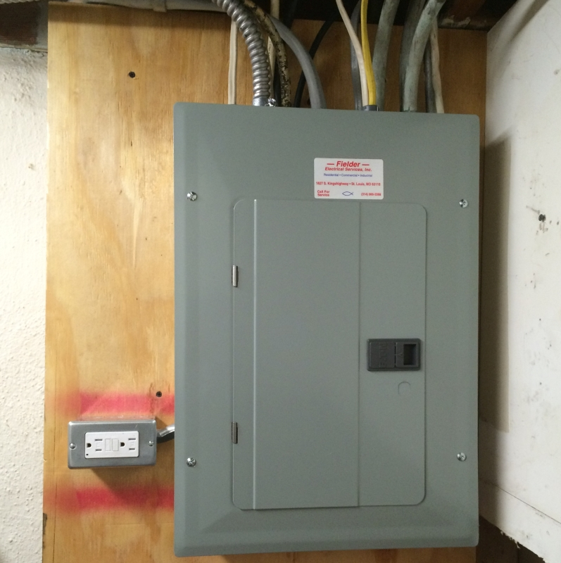 08 New Electrical Panel - Fielder Electrical Services, Inc.