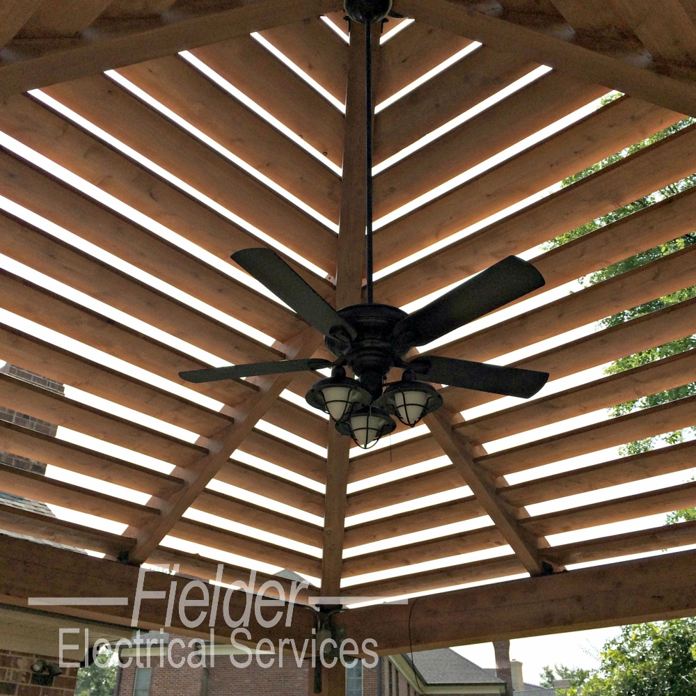 outdoor pergola lighting