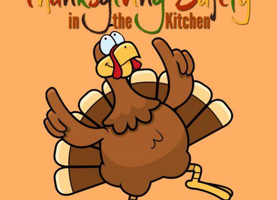 Thanksgiving kitchen safety
